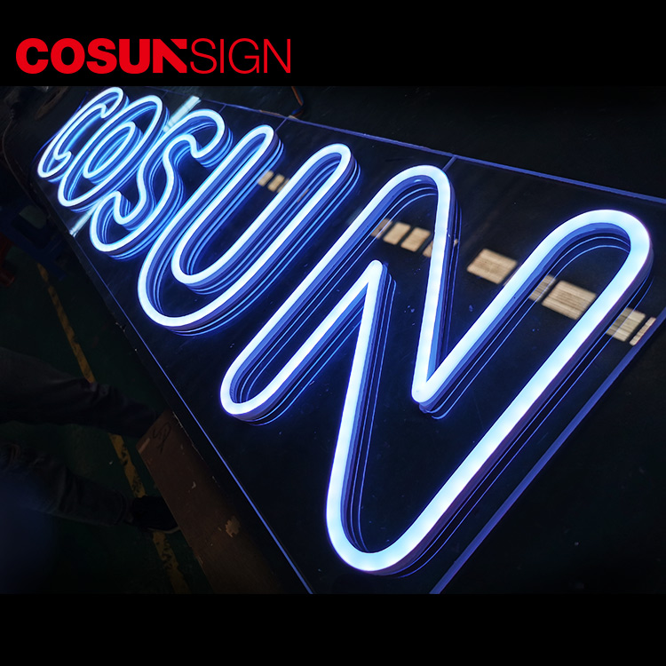 COSUN Top sign board factory for decoration-5