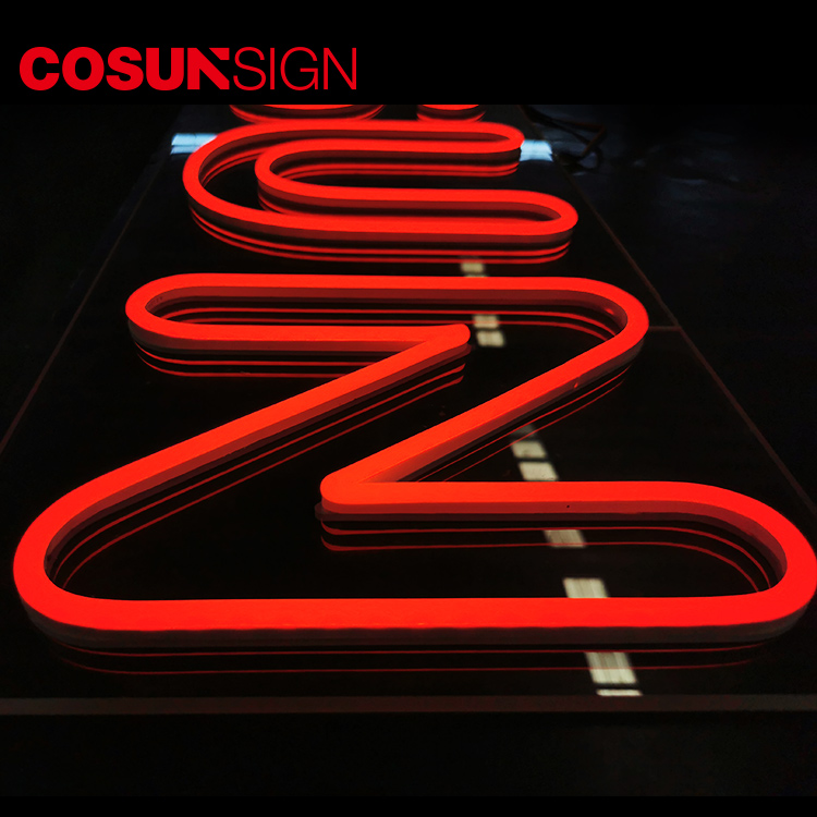 COSUN eye-catching blue neon sign company for house-2