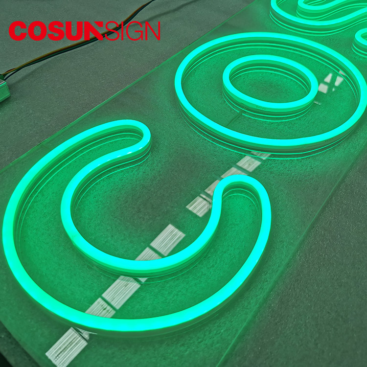 COSUN eye-catching pink neon light factory for promoting-8