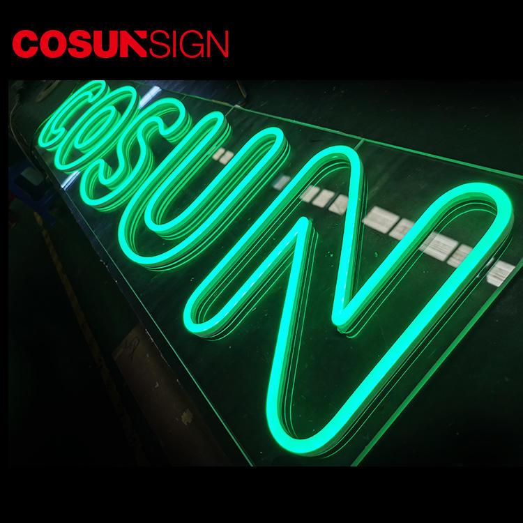 COSUN on-sale neon word lights for sale factory for warning