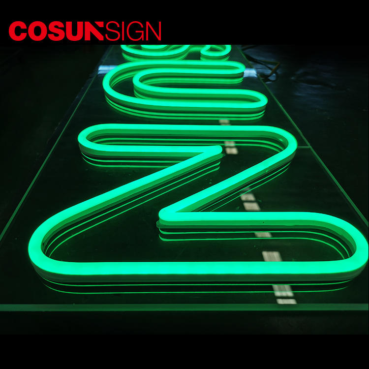 Custom indoor neon signs eye-catching company for hotel