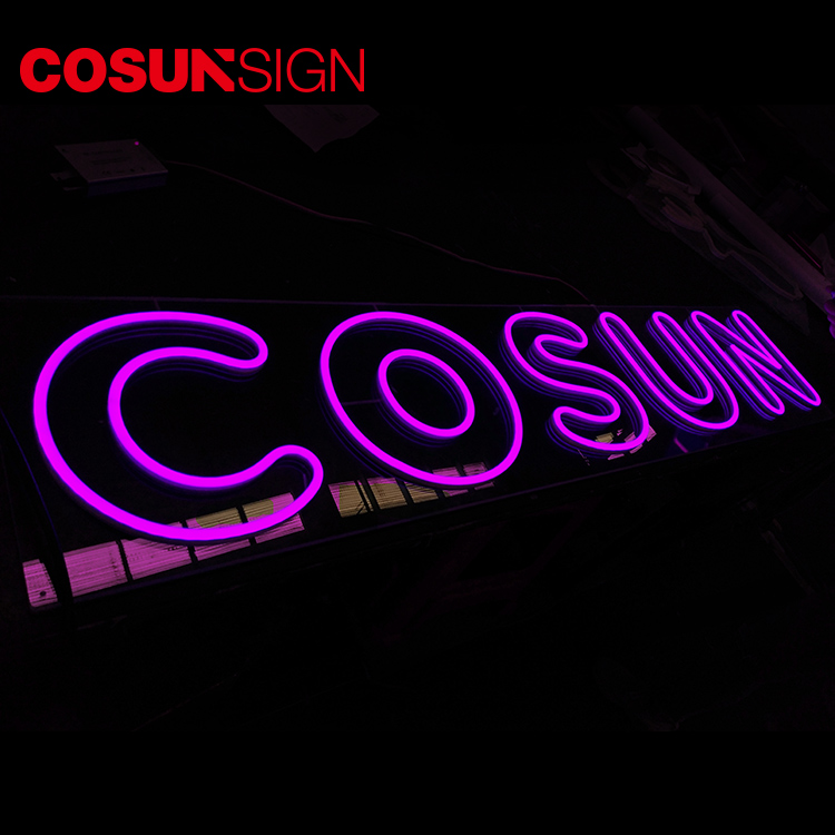 Custom indoor neon signs eye-catching company for hotel-8