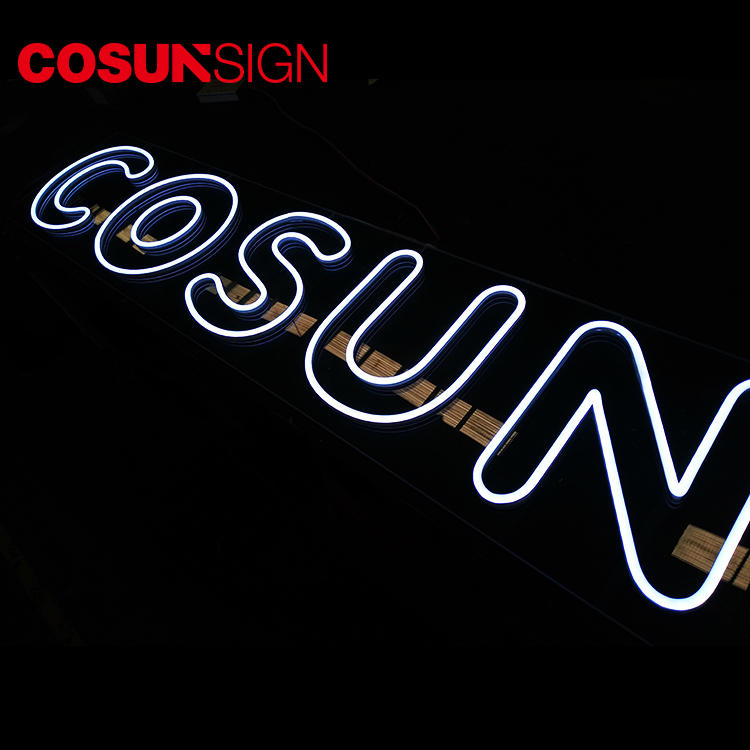 COSUN eye-catching pink neon light factory for promoting