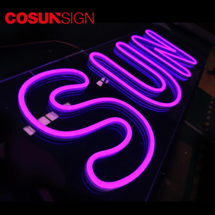 Custom Neon Sign Light Modern Ul Certified High Brightness