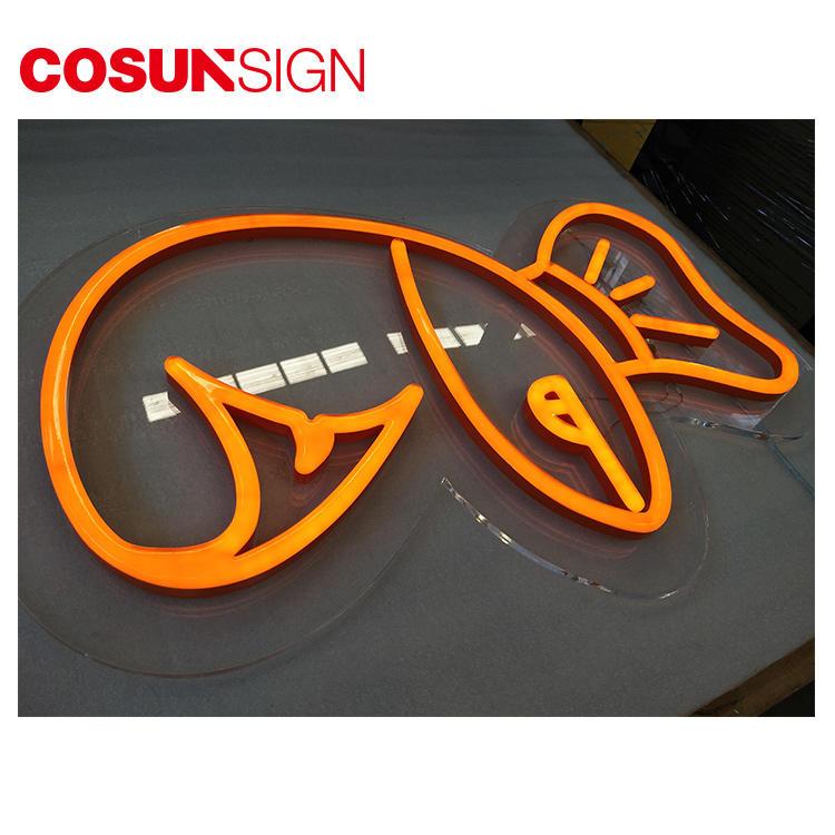 Flamingo Neon Sign Cosunsign Promotional Customized Shape Illuminate