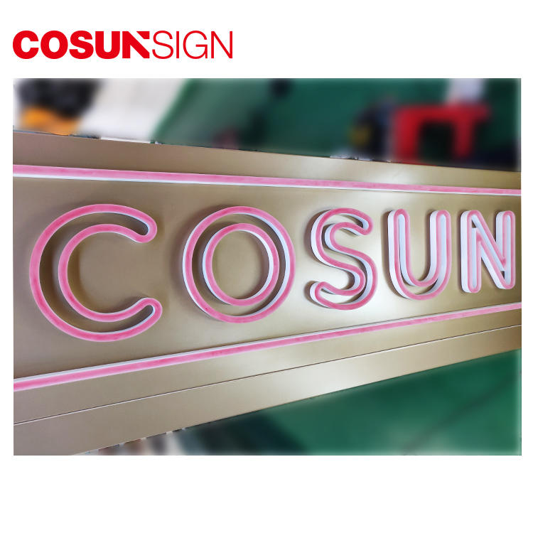 COSUN Top buy neon letters company for hotel