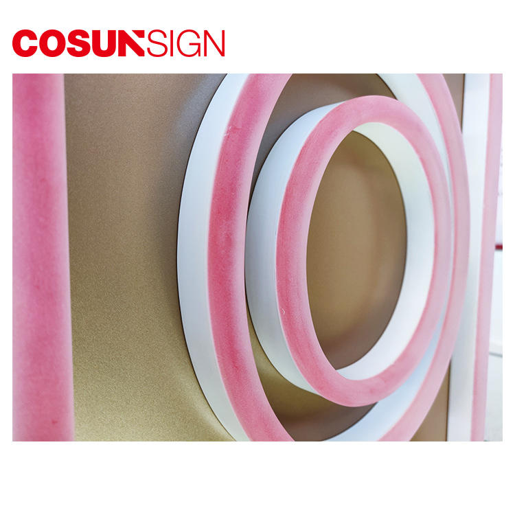 Pvc Neon Sign Cosun Sign Ce Certified High Brightness Engraving