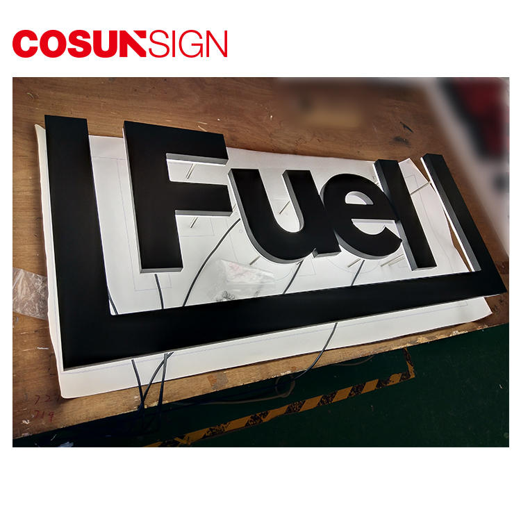 COSUN clear letter plastic sign stand on-sale inquire now