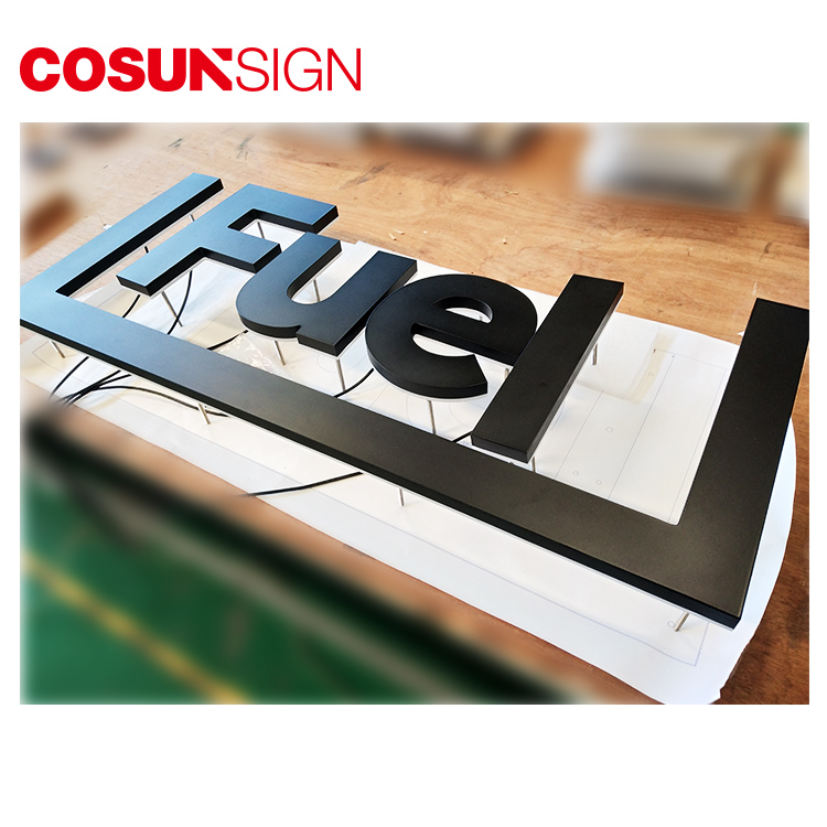 COSUN clear letter plastic sign stand on-sale inquire now-11