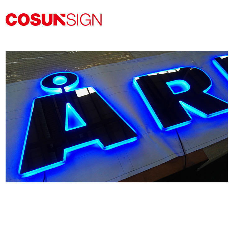 Laser Cut Acrylic Mirror Letter Cosun Custom-Made Design