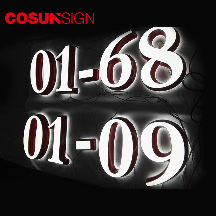 Custom custom sign holder led base wholesale for shop
