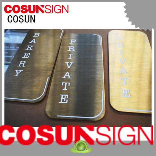 COSUN hot-sale toilet door signs buy now for warning