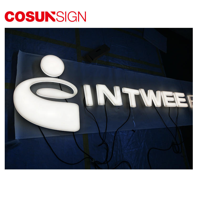Led Light Acrylic Sign Cosun Advertising Engraved Outside