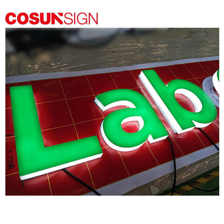 3D Illuminated Acrylic Letter Cosun Indoor Usage Merry Christmas