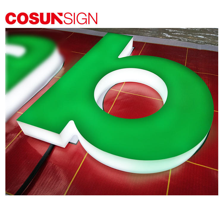 COSUN New commercial sign holders easy installation for shop