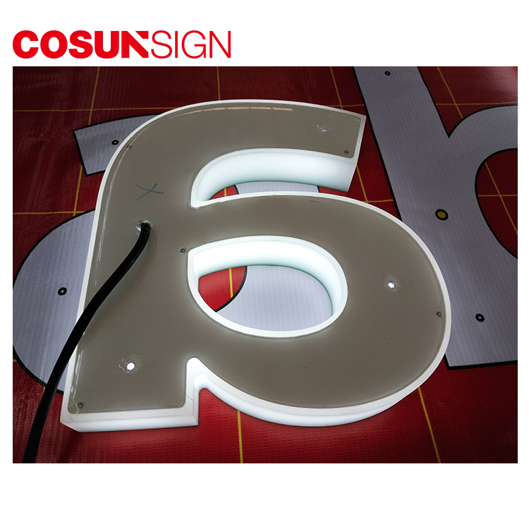 COSUN New commercial sign holders easy installation for shop-5