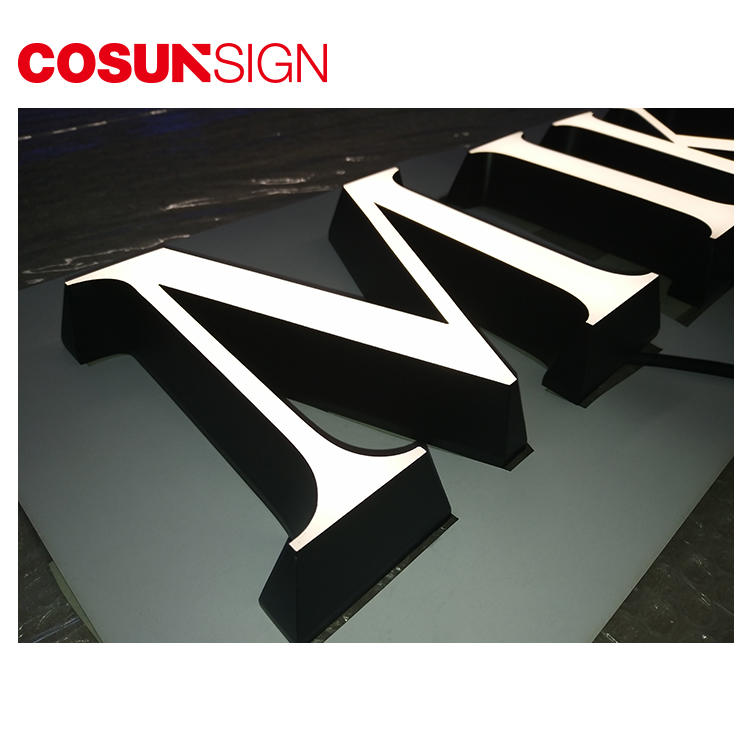 Acrylic Fillable Letter Cosun Custom Design Energy Saving
