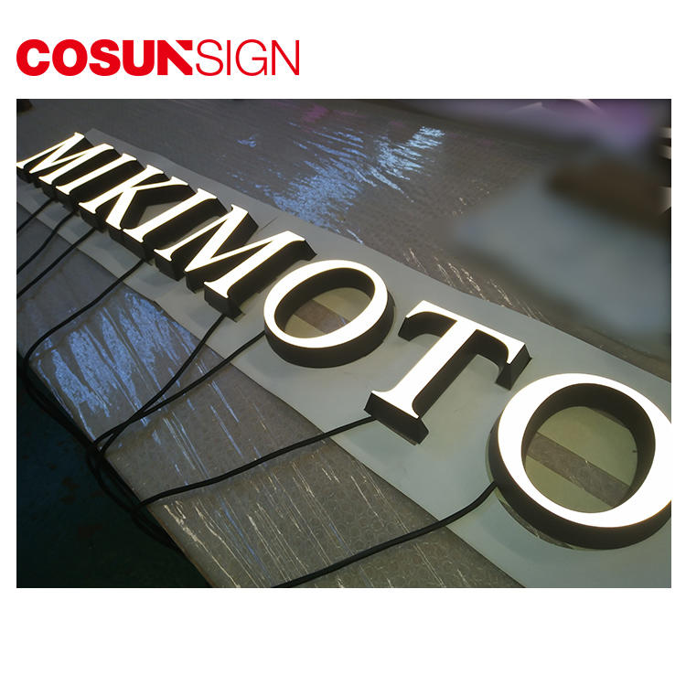 COSUN led base aluminum sign holder manufacturers for pub club