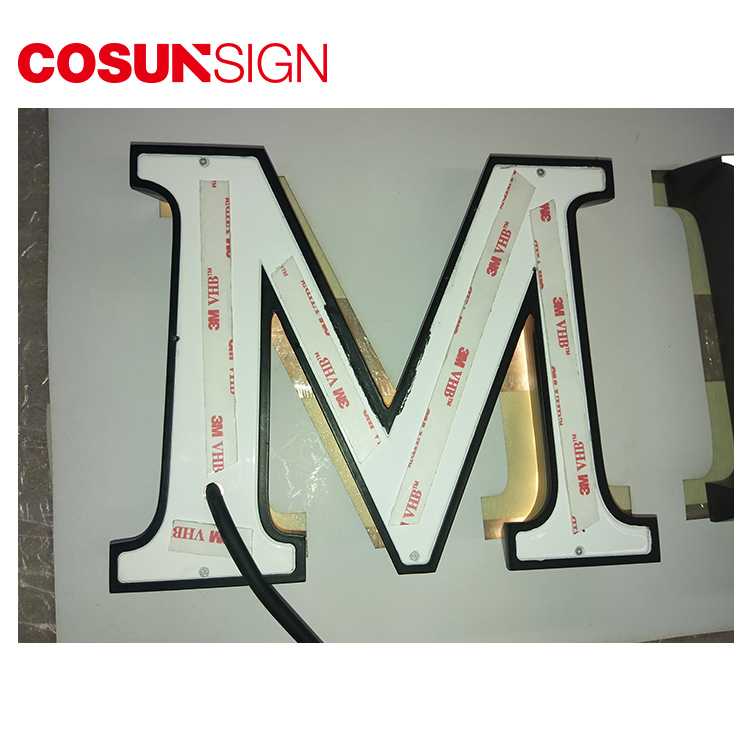 COSUN clear letter meeting room sign holders for shop-5