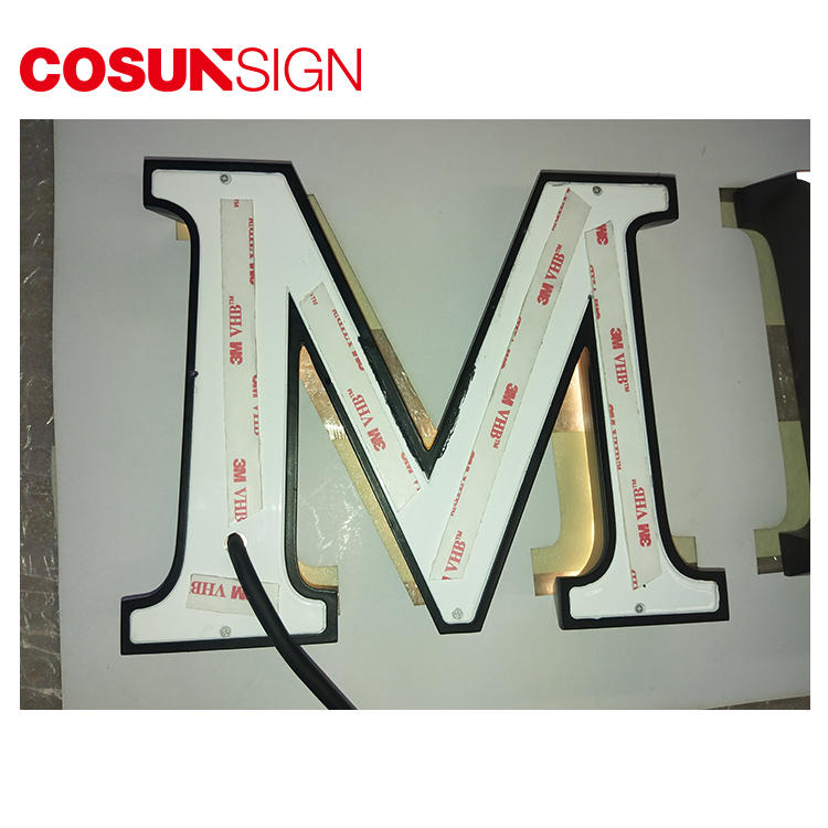 COSUN clear letter meeting room sign holders for shop