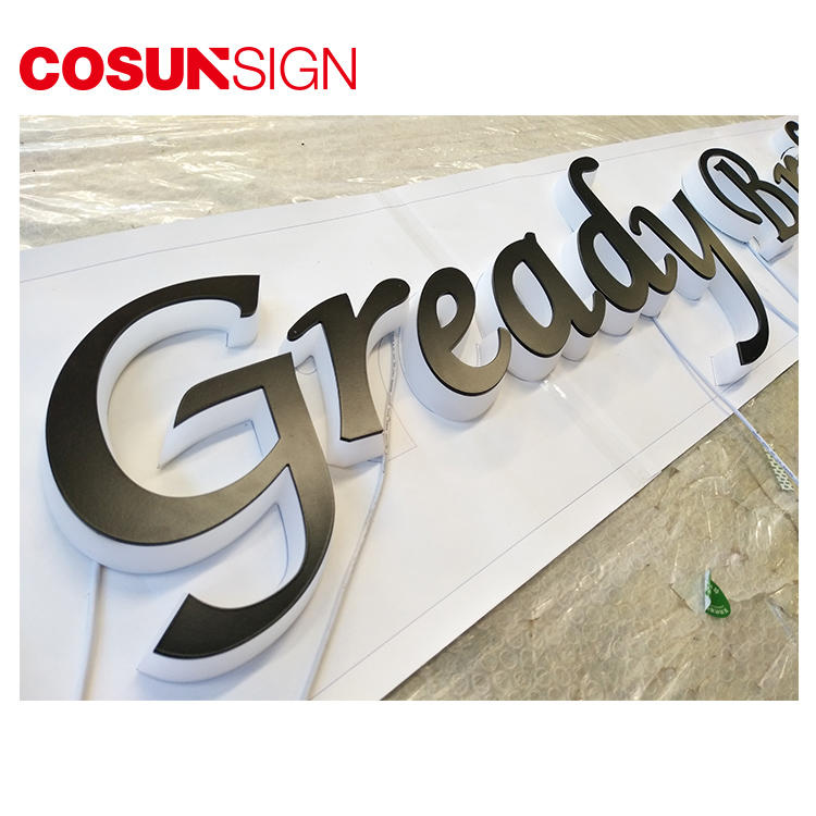 Acrylic 3D Letter Cosun Clear Acrylic Customized Available