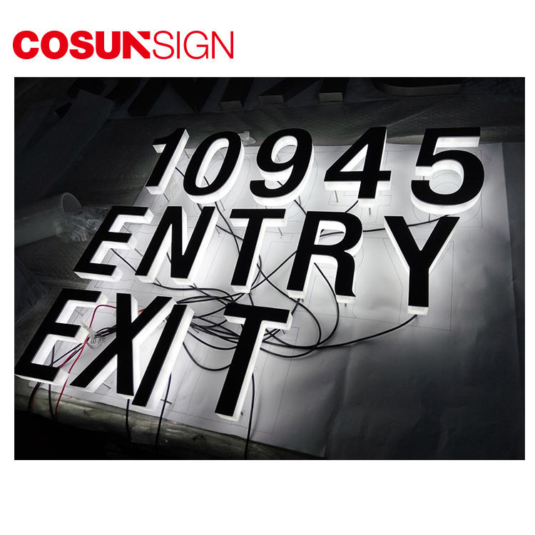 Acrylic Led Edge Lit Sign Cosun Fashionable Indoor/Outdoor Supplier