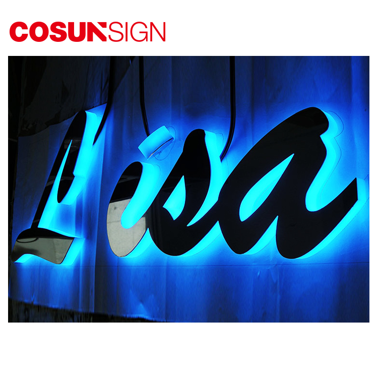 COSUN plastic acrylic led light box manufacturers for shop-2