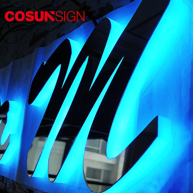 Acrylic 3D Logo Design Letter Cosun Custom Design Cnc Engrave