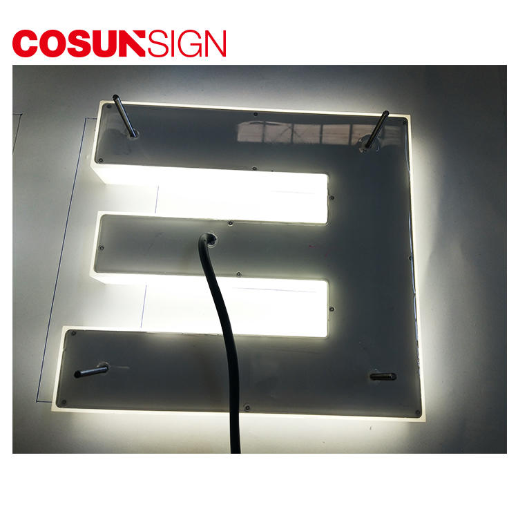 COSUN cheapest price plexiglass wedding signs for business for shop