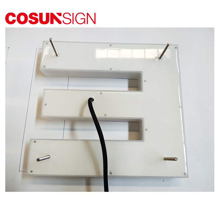 COSUN clear letter price display holders for restaurant-5