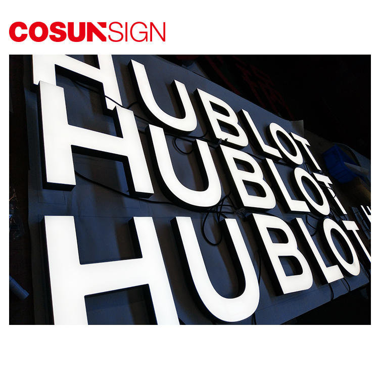 Laser Cut Acrylic Letter Cosun Ul Certified Indoor Usage