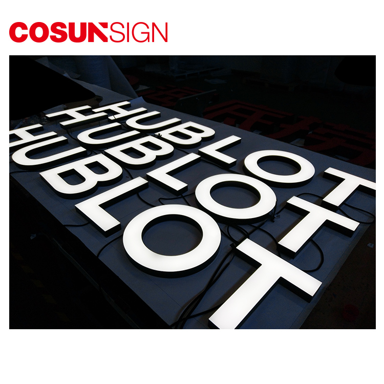 COSUN Custom acrylic sign stand Suppliers for shop-11