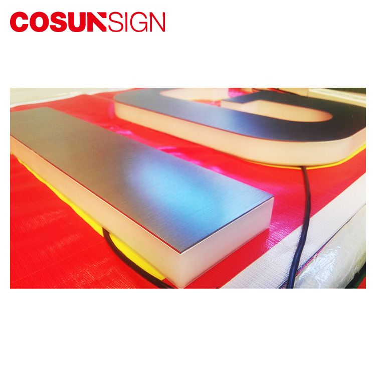 COSUN Top sign plexi for restaurant-5