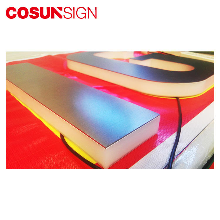 COSUN Top sign plexi for restaurant
