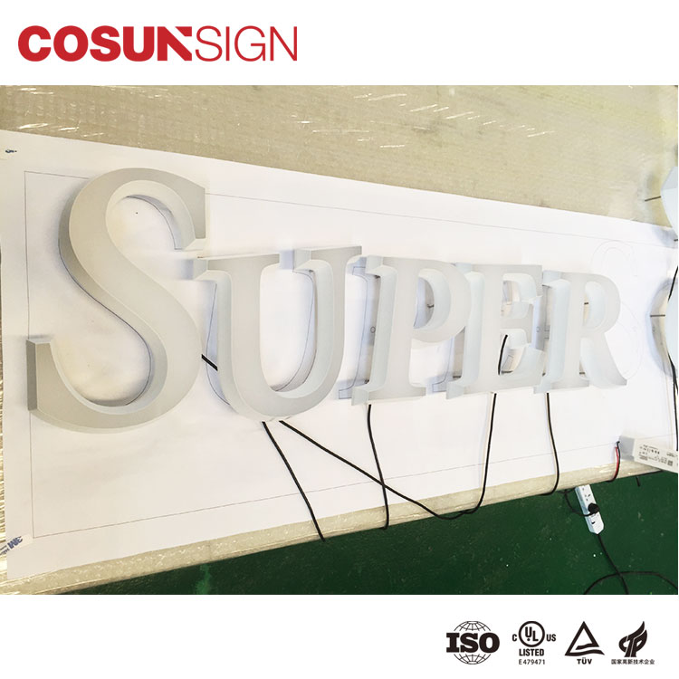 Custom wholesale acrylic signs led base Supply for restaurant-8