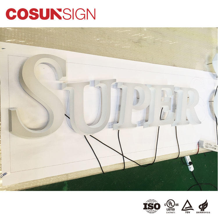COSUN Custom small table sign holders easy installation for pub club
