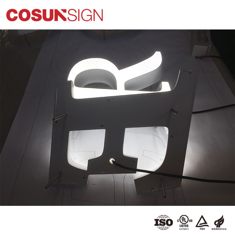 Best custom sign frames led base new for restaurant-5