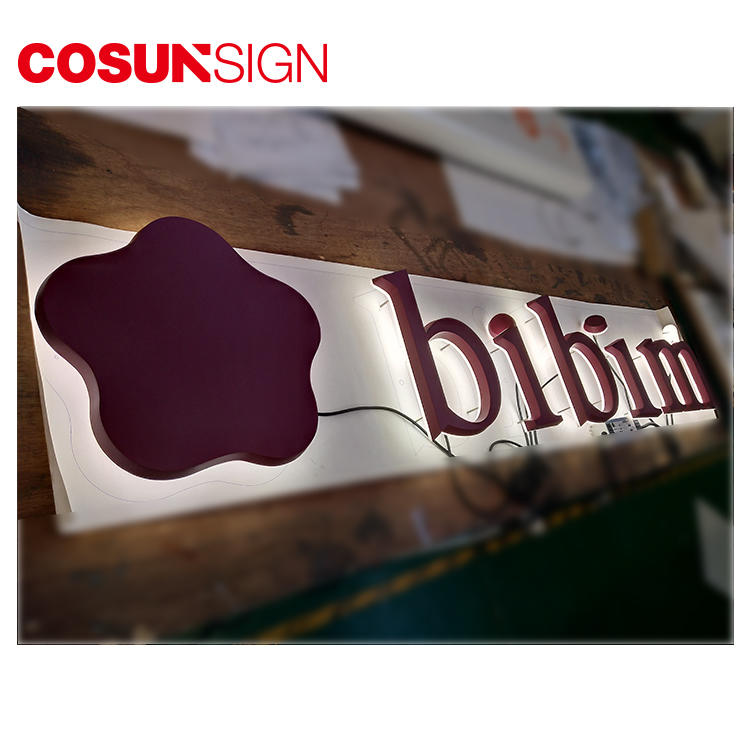 Alphabet Acrylic Letter Cosun Iso Certificate Illumimate China Manufacturer