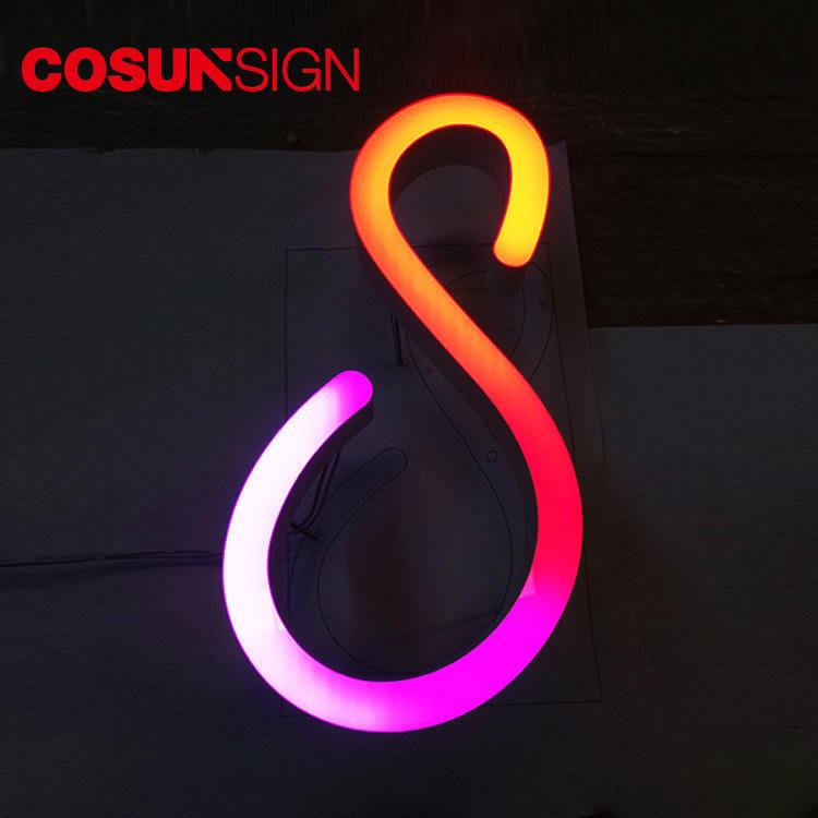 Acrylic Sign Stand Cosun Ul Certified Illumimate China Manufacturer