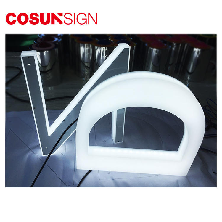 Led Channel Letter Sign Acrylic Cosun Ce Certified Chain Shop
