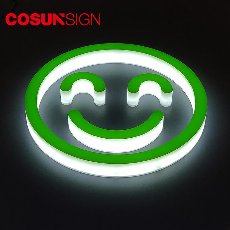 Storefront Acrylic Letter Sign Cosun Ce Certified High Brightness