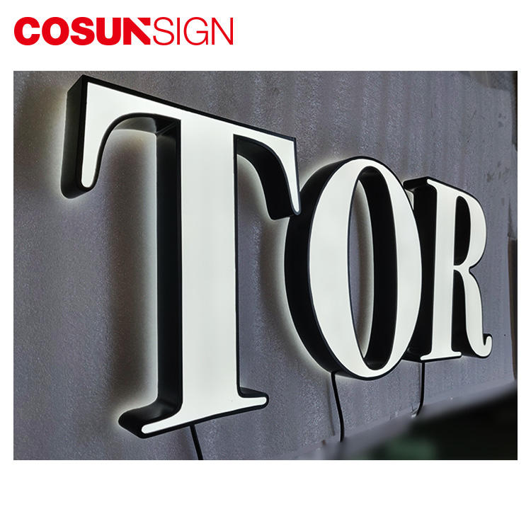 3D Led Acrylic Letter Cosun Ul Certified Energy Saving Board