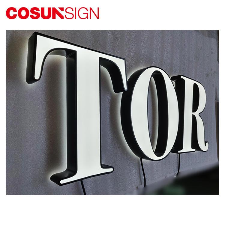 3D Led Acrylic Letter Cosun Ul Certified Energy Saving Board