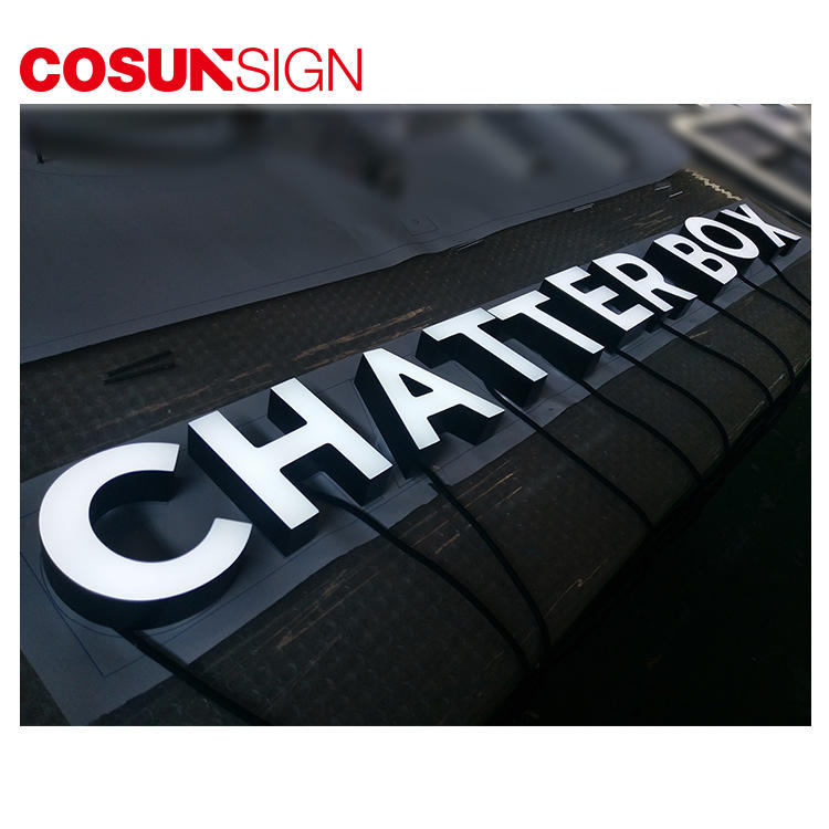 Acrylic Led Signage Cosun Waterpoof Energy Saving Office Supplier