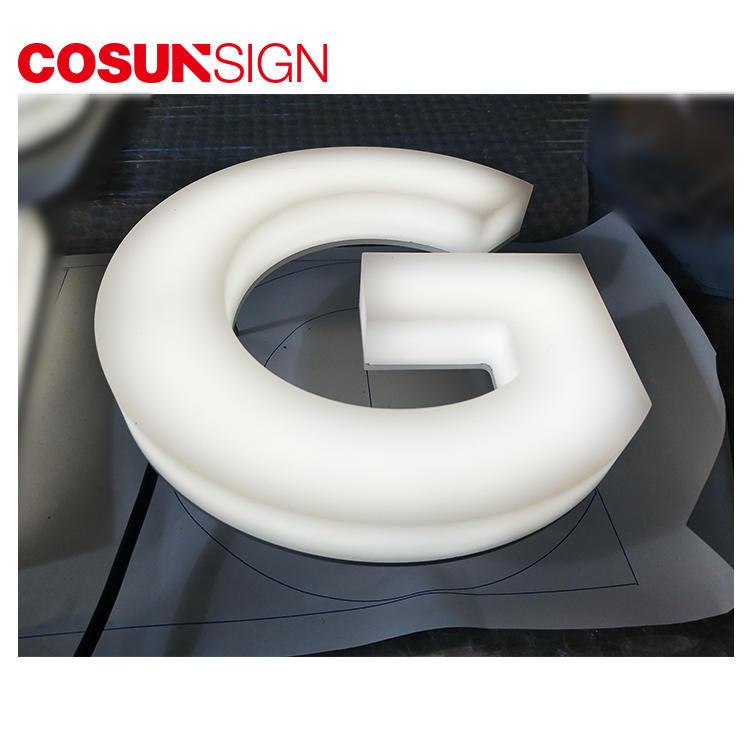 Acrylic Led Sign Standoffs Cosun Eye-Catching Waterproof Supplier