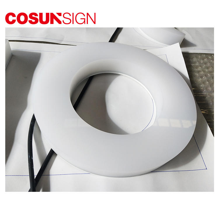 COSUN high-quality clear plastic sign display Supply for pub club
