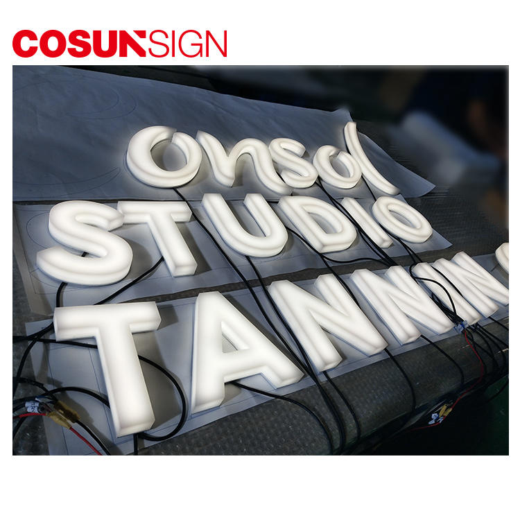 Edge-Lit Acrylic Sign Cosun Cheap Price Customized Shape Manufacturer