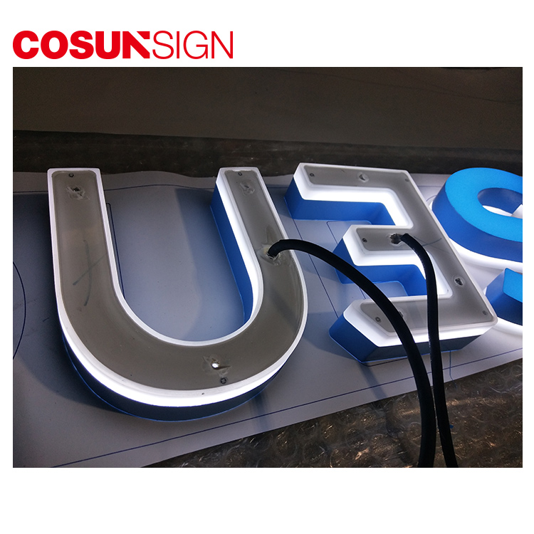 High-quality commercial signs clear letter for shop-5