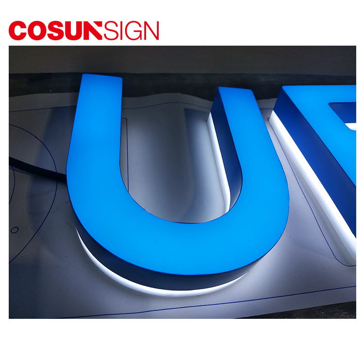 High-quality commercial signs clear letter for shop-8