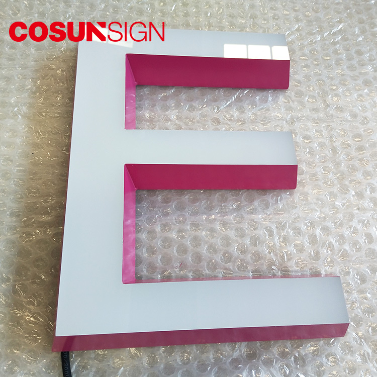 COSUN plastic retail sign stand easy installation for pub club-2